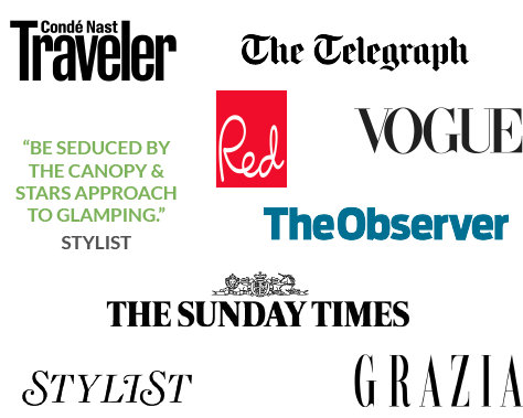 Press logos and quotes