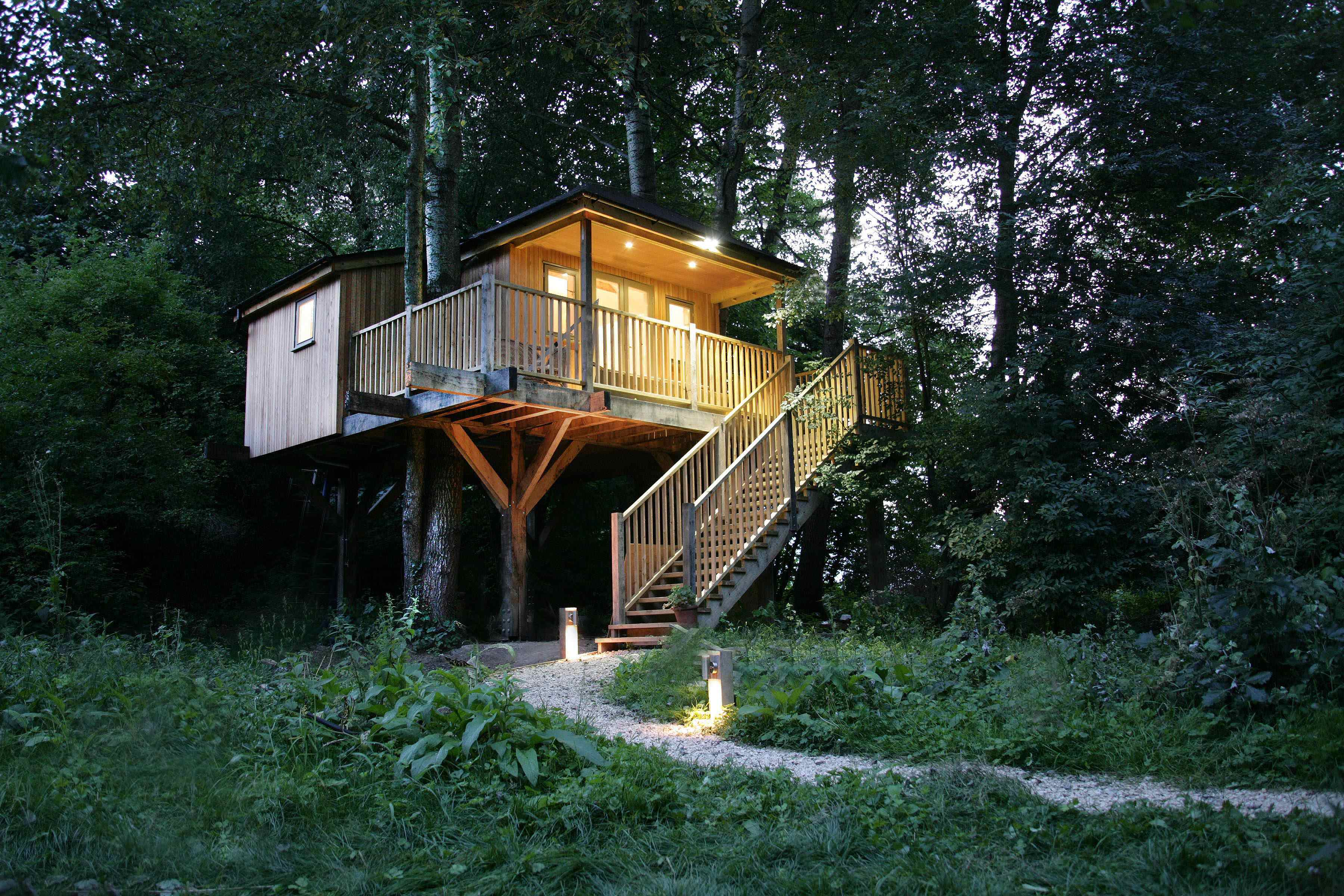 Old Mill Treehouse Bath N E Somerset Canopy Stars