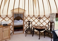 The Yurt at Harptree Court