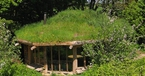 Exterior, Hobbit House, Roundhouse, Plan it Earth, Cornwall