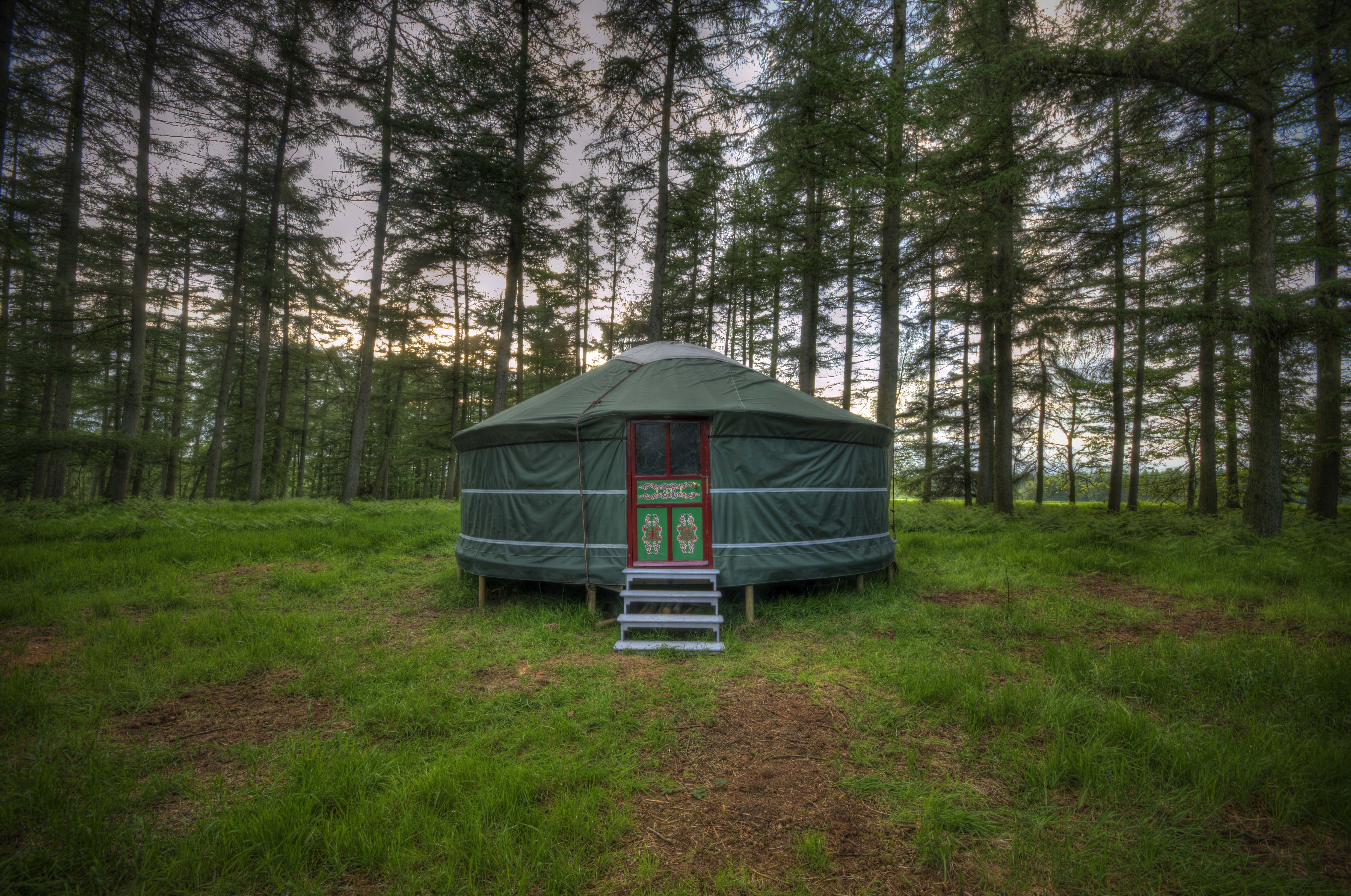 netherby woodland yurt canopy stars. Black Bedroom Furniture Sets. Home Design Ideas