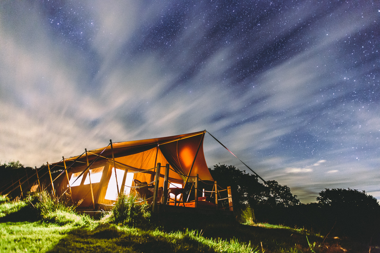 Lee   Safari tent in Devon   Canopy & Stars