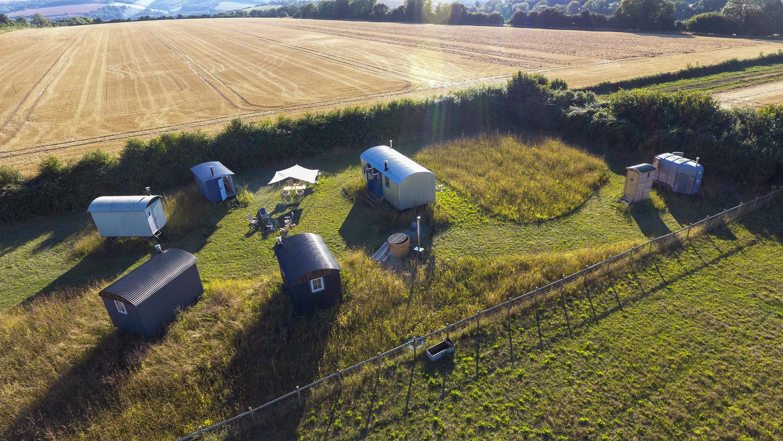 The Gathering Camp Dorset Canopy Stars