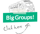 Click here to see information for Big Group bookings