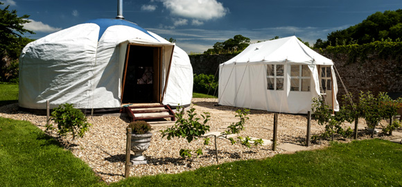 The Yarlington Yurt, Somerset