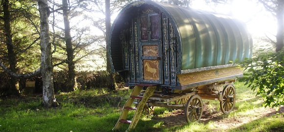 Bowtop, Roulotte Retreat, Scotland