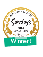 Winner of Sawday's Awards 2014  - Squeaky Green