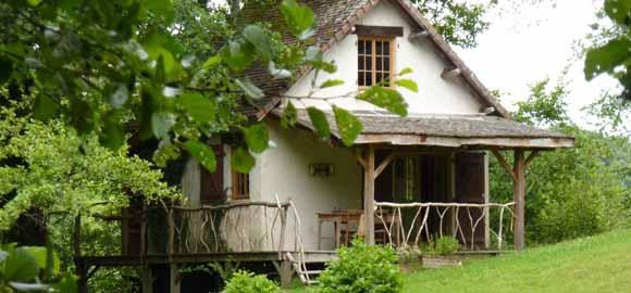 Poacher's Cabin in the trees