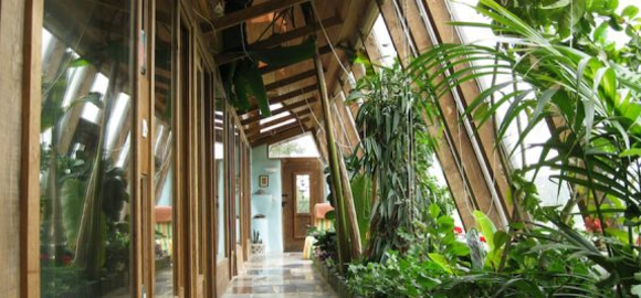 Normandy, France Earthship