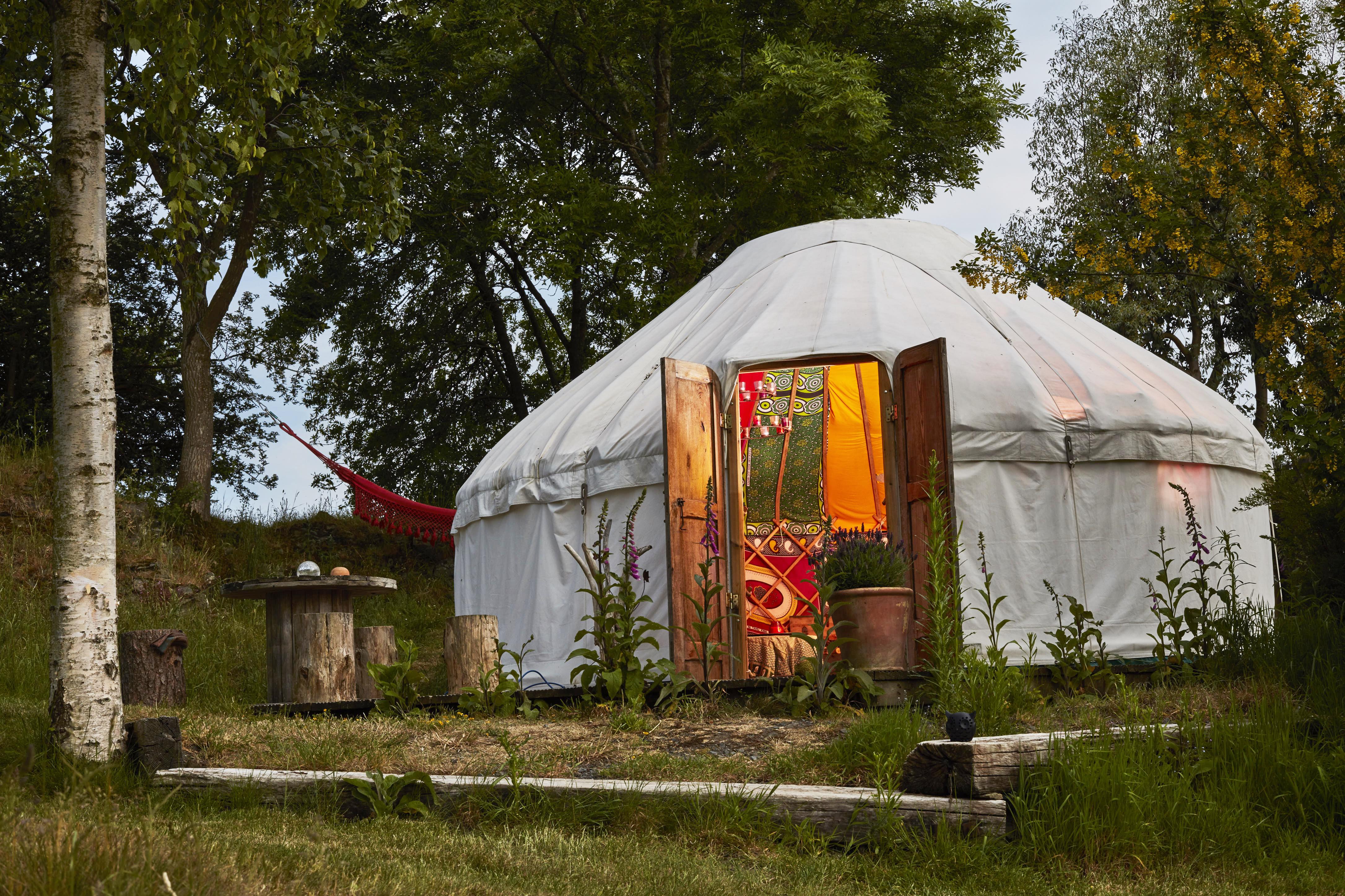 Yurt Holidays | Yurt Glamping | Canopy & Stars