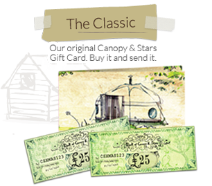 The Classic Canopy & Stars Gift Card