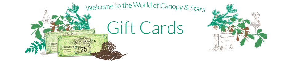 Welcome to the world of Canopy & Stars Gift Cards