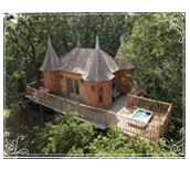 See all our great honeymoon venues (pictured - Monbazillac Treehouse)