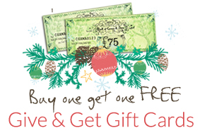 Christmas Give and Get Gift Cards