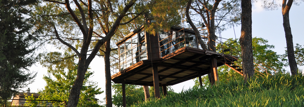 Treehouse at Casa Barthel, Florence, Italy
