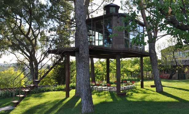 New places - see our latest finds for glamping getaways (pictured - Old Mill Treehouse, nr Bath)