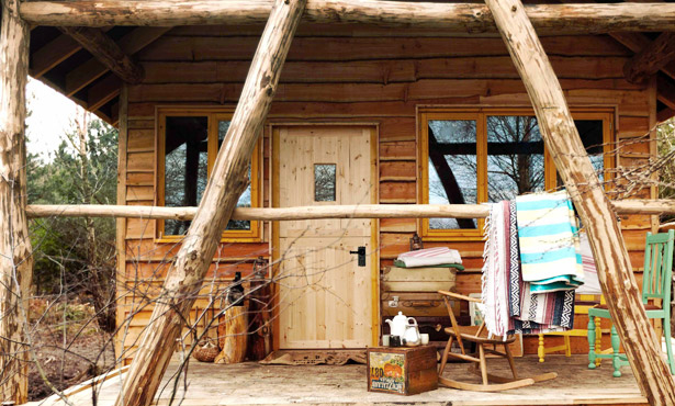 Frontier cabins and cosy lodges