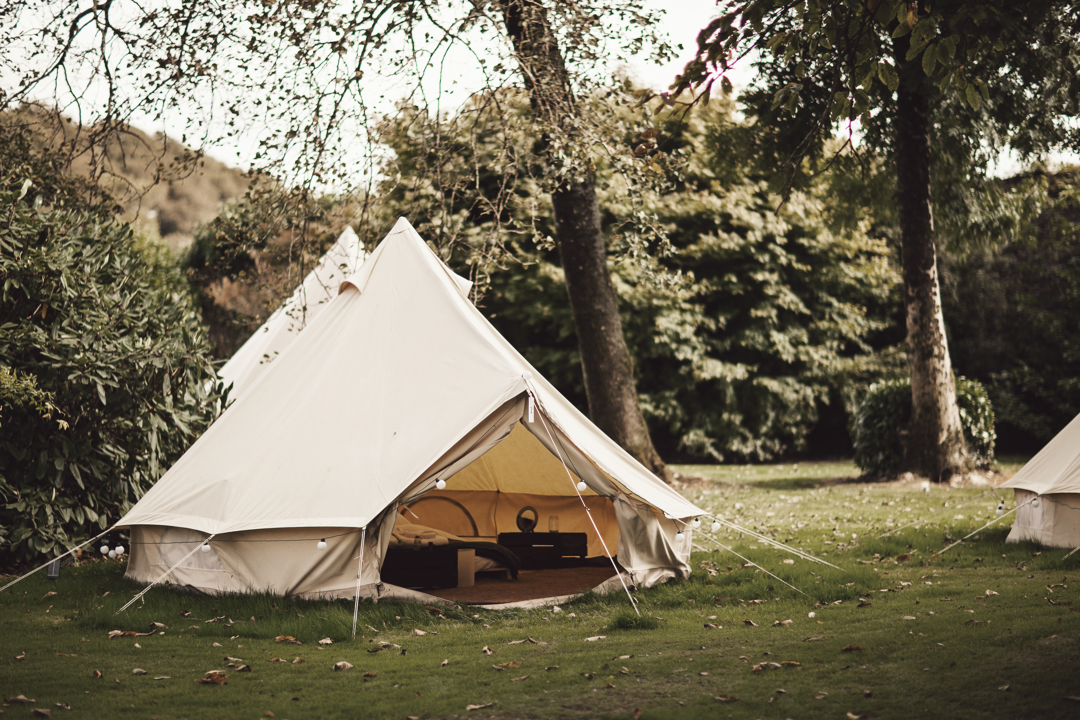 tent one at ballyvolane bell tent in co cork canopy. Black Bedroom Furniture Sets. Home Design Ideas