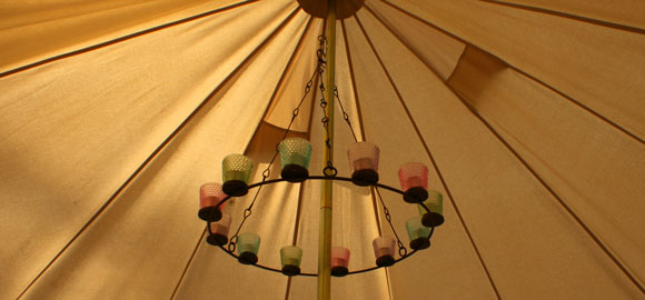 Tent Two At Ballyvolane Bell Tent In Co Cork Canopy