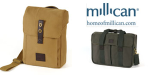 Millican travel bags to be won on Facebook