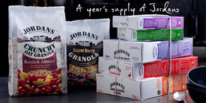 Win a year's supply of Jordans cereal
