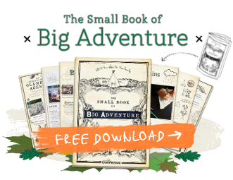 Download the Small Book of Big Adventure! 60 (and a half) things to do in the great outdoors