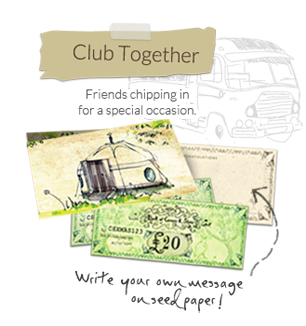 The Club Together Gift Card! Tell all your friends