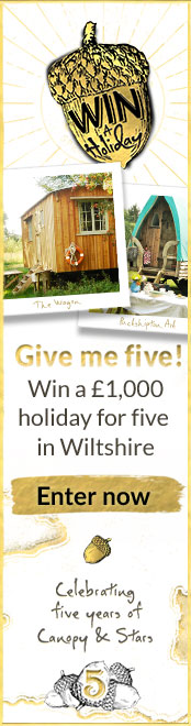 Give me Five! Win a fabulous Wiltshite wagon holiday