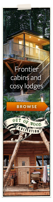 Out of Wood - Cosy cabins and frontier lodges