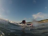 Surfing at Longlands