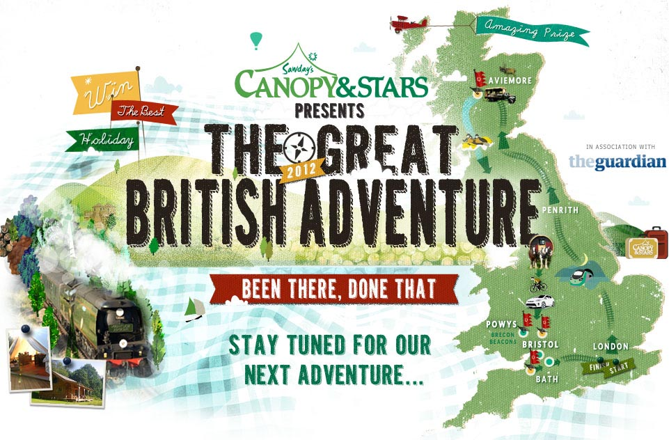 The 2012 Great British Adventure has now finished