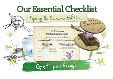 The Canopy & Stars Essential Checklist Spring Summer 2015