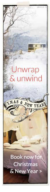 Unwrap & unwind. Book now for Christmas and New Year 2014