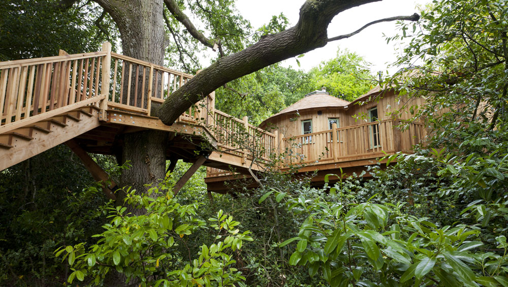 Treehouse Holidays In The Uk France Portugal Canopy
