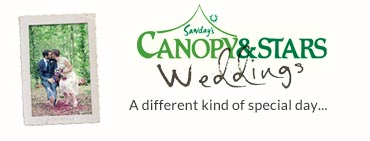 Alternative weddings with Canopy & Stars
